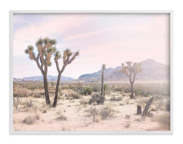 "joshua tree no. 10 30 x 40""white frame - Minted"
