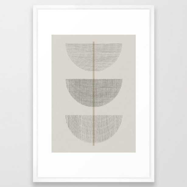 Geometric Composition III Framed Art Print - Society6