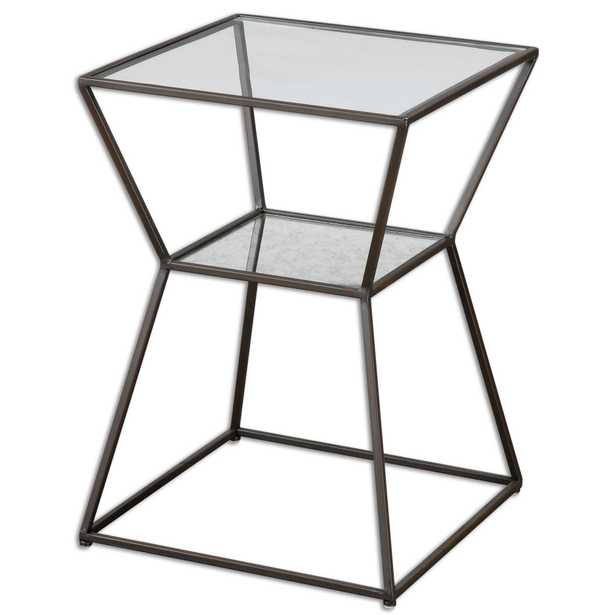 Auryon Iron Accent Table - Hudsonhill Foundry