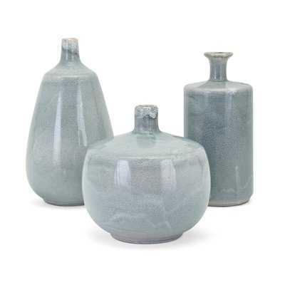 Dwain Delta 3 Piece Table Vase Set - Wayfair