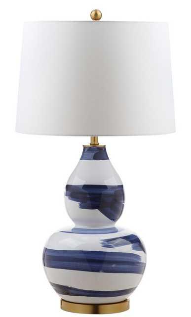 Aileen Table Lamp - Blue/White - Arlo Home - Arlo Home