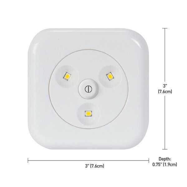26024 LED Under Cabinet Puck Light (Set of 6) - Wayfair