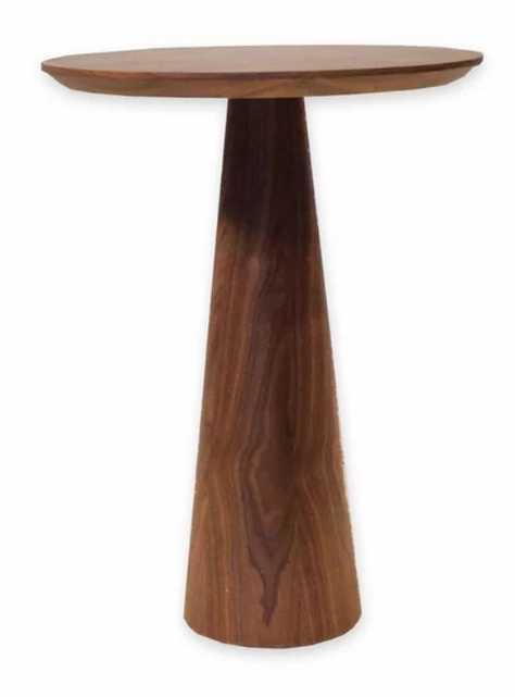 Dulles Pedestal End Table - Wayfair