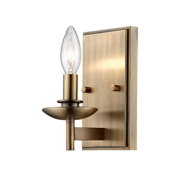 Noland 1-Light Candle Wall Light - Wayfair