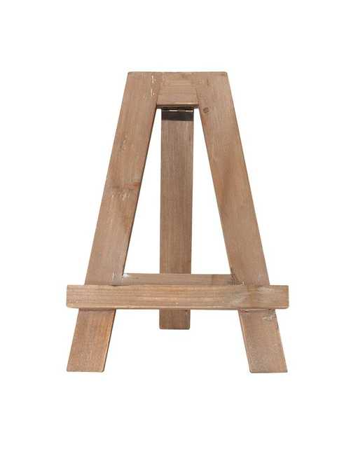 WOODEN EASEL OBJECT - McGee & Co.