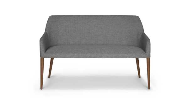 Feast - Gravel Gray Dining Bench - Article