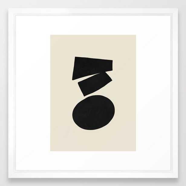 Narrowing down Framed Art Print - Society6