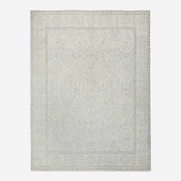 Hand Knotted Amica Rug, 8'x10', Ivory - West Elm