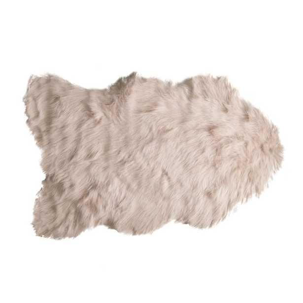Fleming Sheepskin Taupe Area Rug - Wayfair