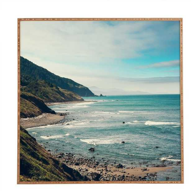 California Pacific Coast Highway by Laura Trevey - Picture Frame Graphic Art Print on Wood - Wayfair