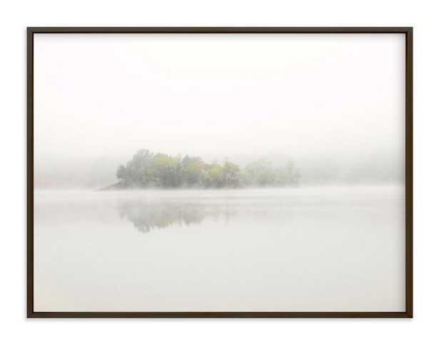 The Island - 24 x 18, Matte Black Frame - Minted