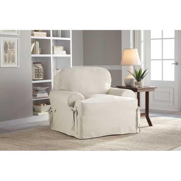 T-Cushion Armchair Slipcover - Wayfair