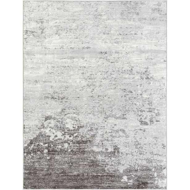 Heimskringla Abstract Silver Gray/Charcoal Area Rug - Wayfair