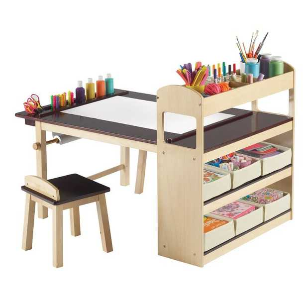 Emilio Kids 3 Piece Arts and Crafts Table and Chair Set - Wayfair