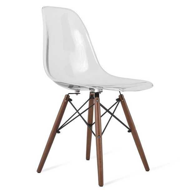 Harrison Solid Wood Clear Dining Chair - Wayfair