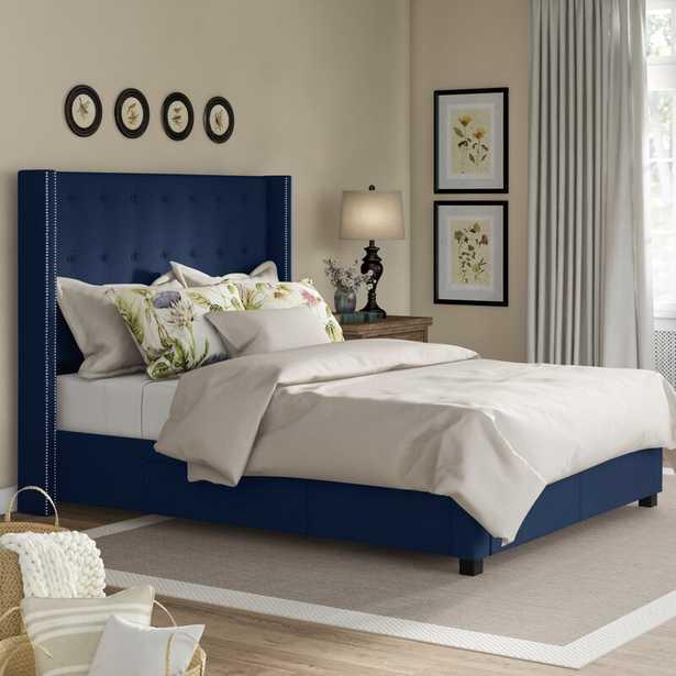 Kerens Tufted Upholstered Storage Standard Bed - Wayfair