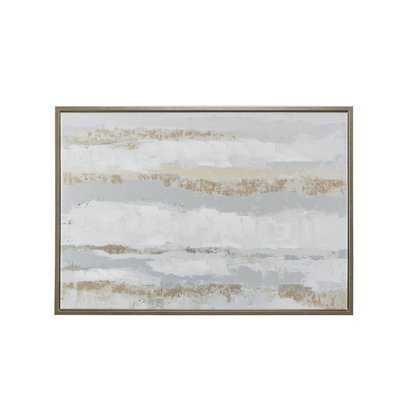 'Strato' Framed Print on Wood - Wayfair