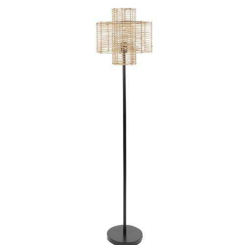 "Myrtle Avenue Rattan 64"" Floor Lamp - Wayfair"