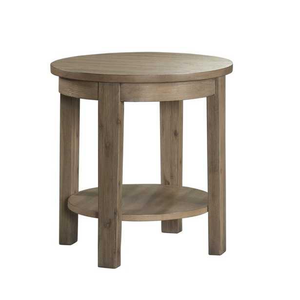 Scoggins End Table - Wayfair