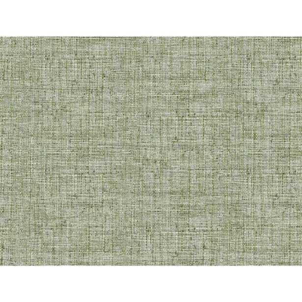 "Helsinki Papyrus Weave 20' L x 27"" W Peel and Stick Wallpaper Roll - Wayfair"