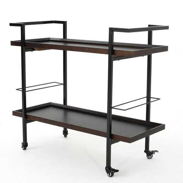 Calvin Wooden Bar Cart - AllModern