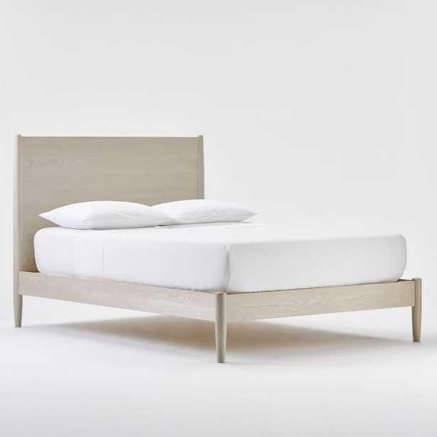 Mid-Century Bed, Pebble, Queen - West Elm