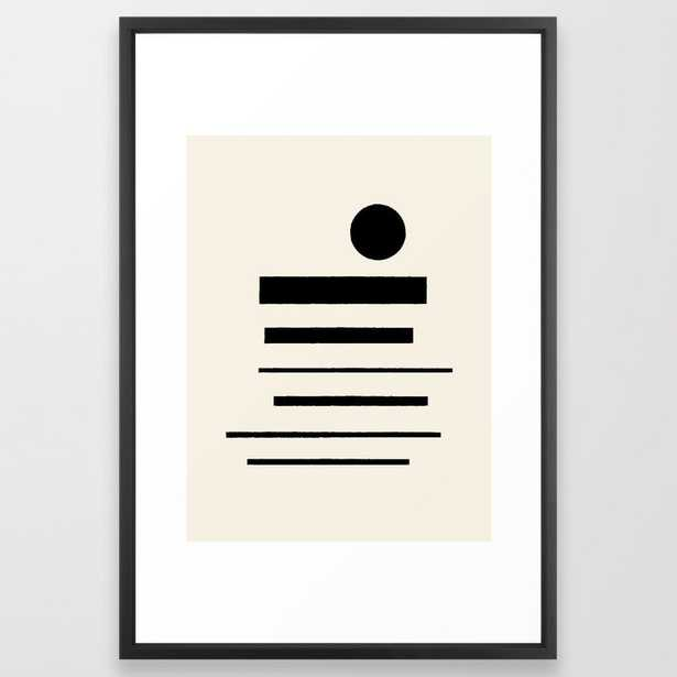 Abstract Composition 11 Framed Art Print - Society6