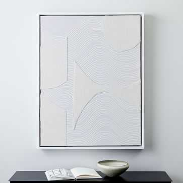 Pieced Fabric Wall Art - West Elm