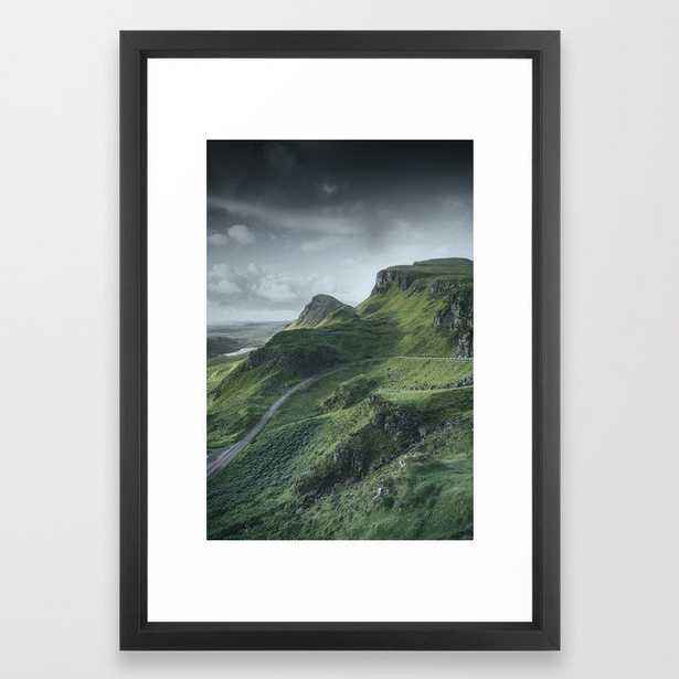Up in the Clouds Framed Art Print by David Lichtneker - Society6