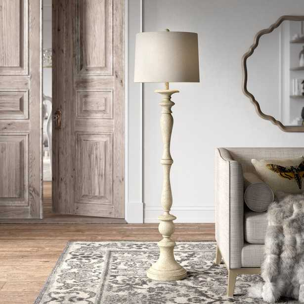 """District 60"""" Traditional Floor Lamp - Wayfair"""