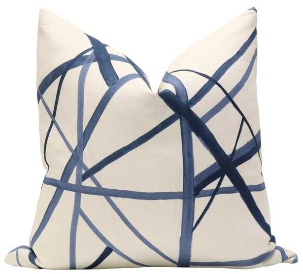 """Channels // Periwinkle, pillow cover - 20"""" - Little Design Company"""