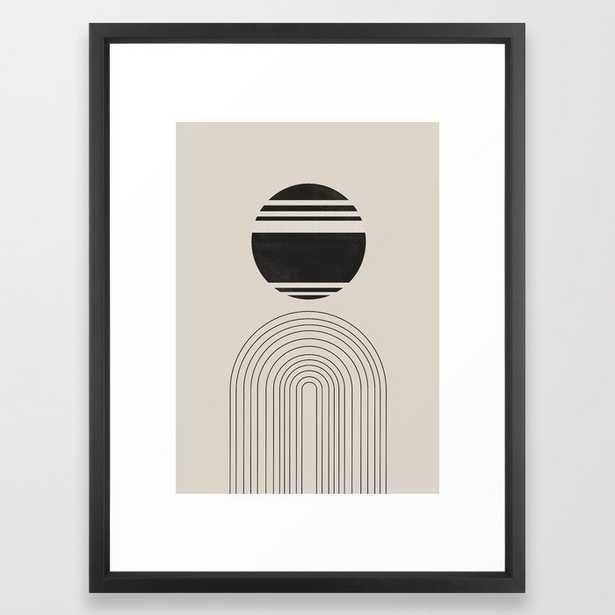 Balance IV, ARCH Framed Art Print - Vector Black Frame - 20x26 - Society6