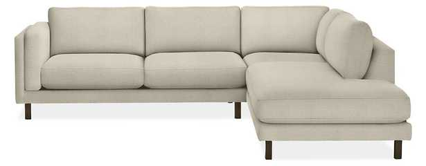 Cade Three Piece Sectional With left Back Sofa - Room & Board