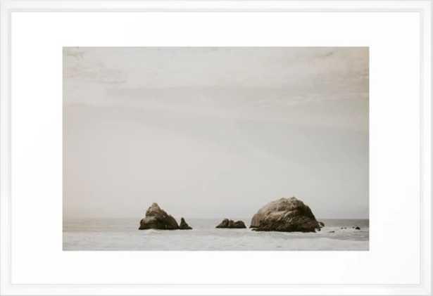 San Francisco Bay Framed Art Print - Society6