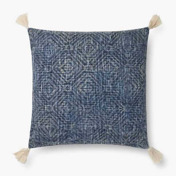 """P0621 BLUE - 22"""" X 22"""" / Cover only - Loma Threads"""