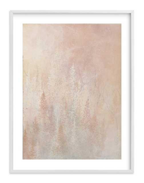 Shine, 30x40 White Wood Frame - Minted