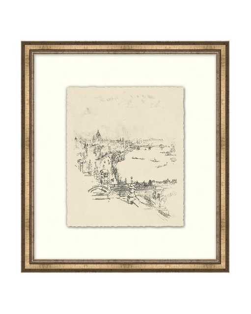 ETCHED CITY Framed Art - McGee & Co.
