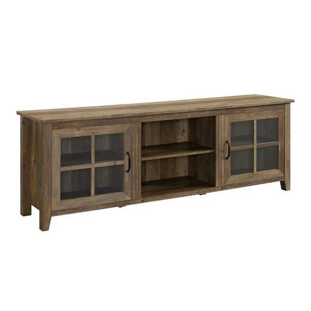 Dake TV Stand for TVs up to 78 inches - Reclaimed Barnwood - Wayfair