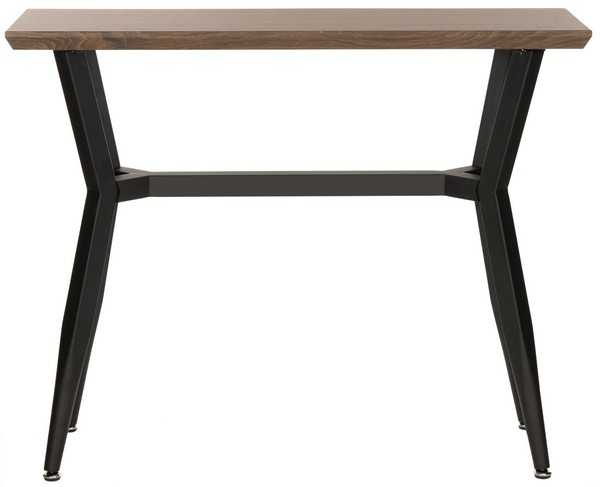 Andrew Console Table - Brown/Black - Arlo Home - Arlo Home
