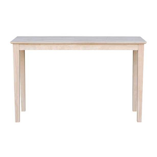 """30"""" H x 60"""" W x 16"""" D Unfinished Kaiser Console Table - AllModern"""