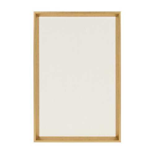 Calter Wall Mounted Bulletin Board-gold - Wayfair