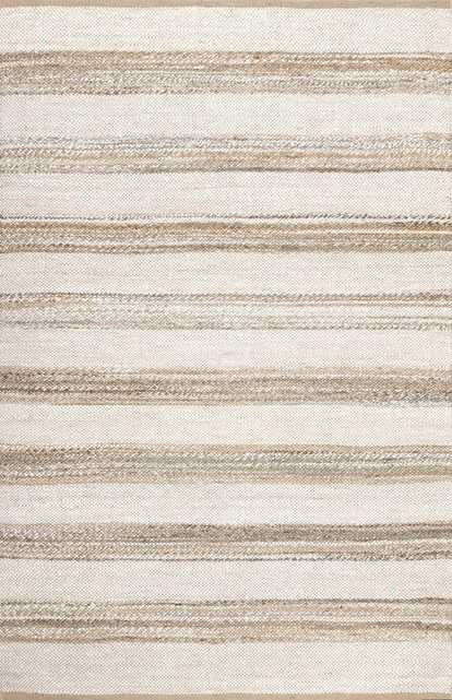 Janelle Striped Jute - Loom 23