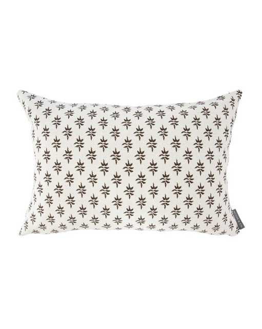 """DOROTHY PILLOW WITHOUT INSERT, 12"""" x 24"""" - McGee & Co."""