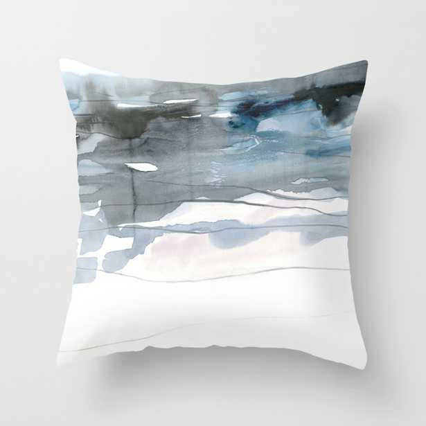 dissolving blues 2 Throw Pillow - Society6