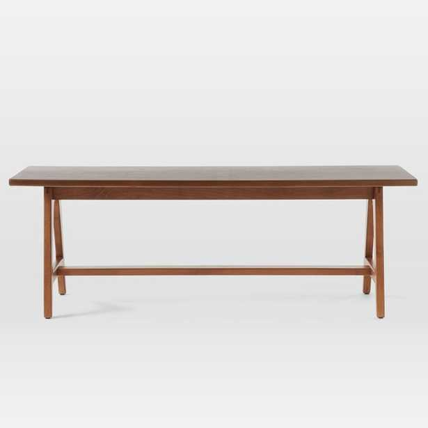 Mid-Century A-Frame Bench - West Elm