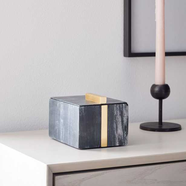 Marble Seamless Shaped Boxes - West Elm