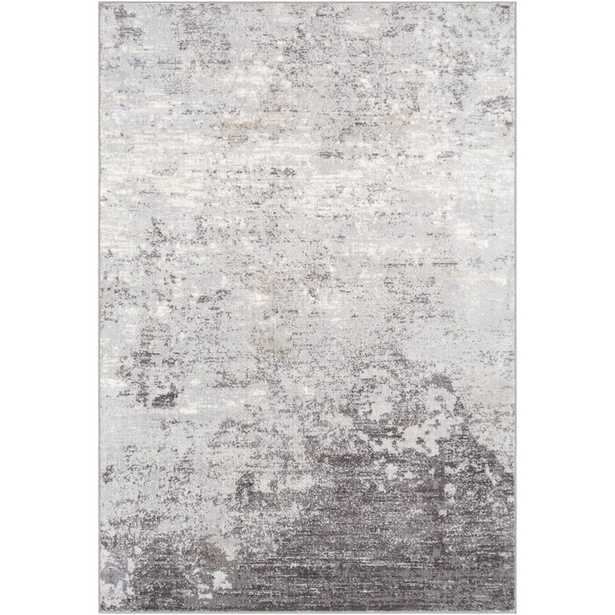 Rosson Abstract Silver/Gray/White Area Rug - Wayfair