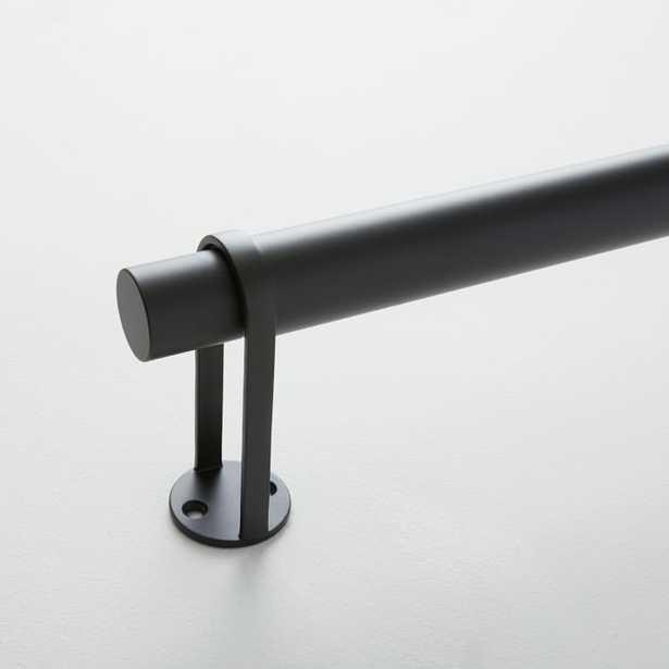 "Simple Metal Rod - Antique Bronze 28""-48"" - West Elm"