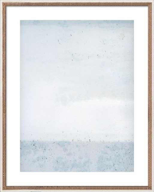 "Overast - Soft Blues / 32x40"" - Artfully Walls"