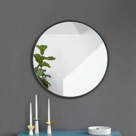 Hub Modern and Contemporary Accent Mirror - Wayfair